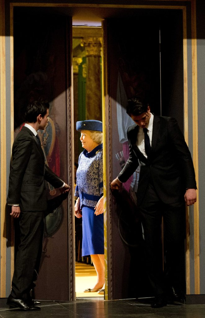 Koningin opent Huygens Tentoonstelling