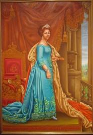 Anton Verheij - Staatsieportret Koningin Beatrix 1980