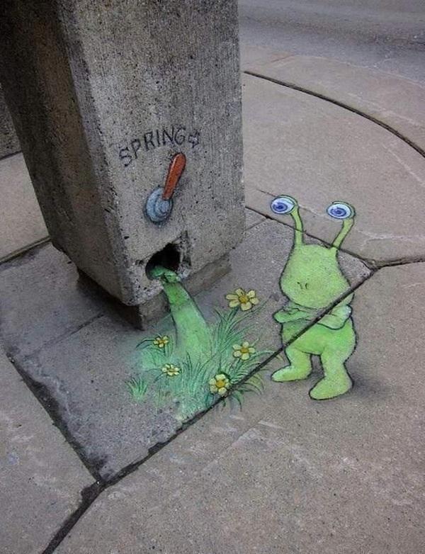 Street Art Spring