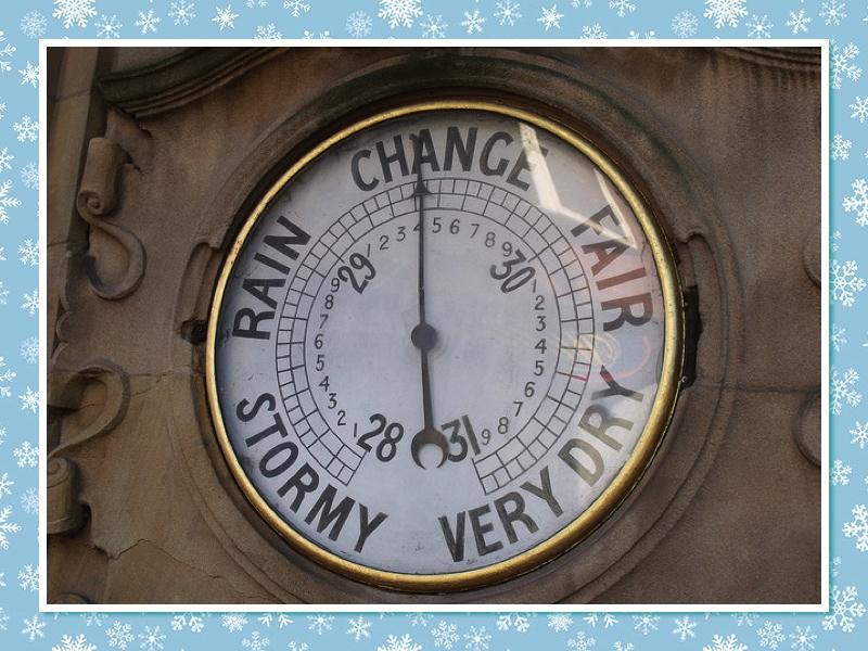 Barometer (photo by Elliot Brown (ell brown), Flickr.com)