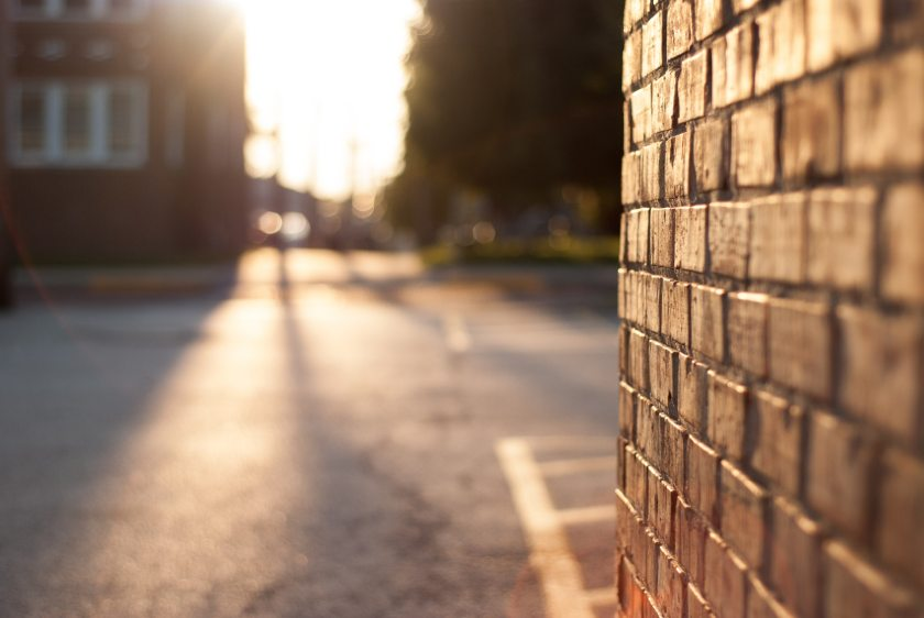 close-up brick wall